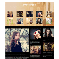photo page layout thumb